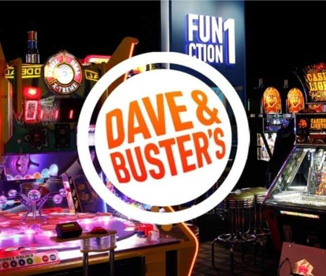 Is Dave and Busters for toddlers?