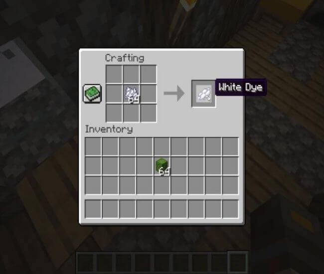 How To Make White Dye In Minecraft