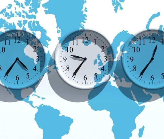 pacific time to central time