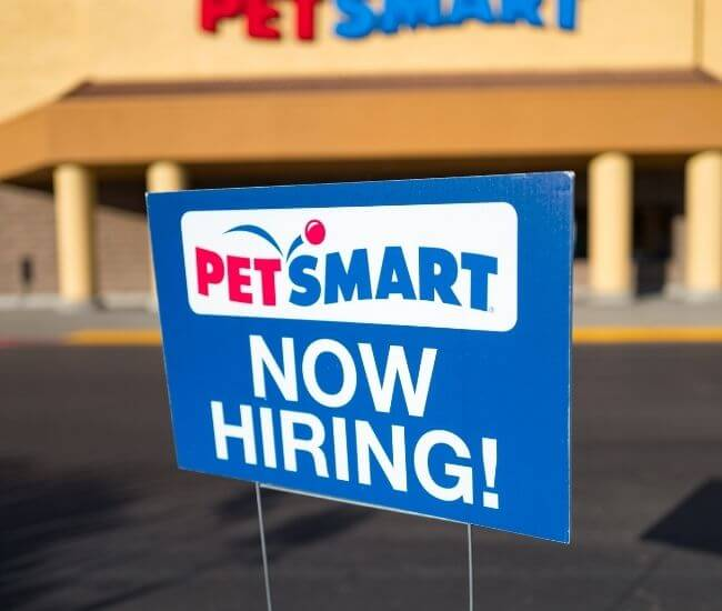 how old do you have to be to work at petsmart