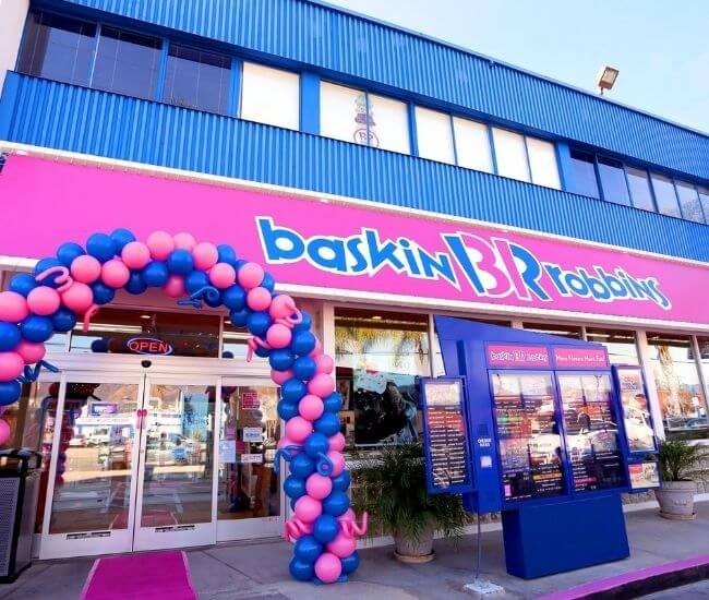 How old do you have to be to work at Baskin Robbins