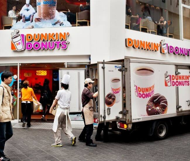 How old do you have to be to work at Dunkin Donuts